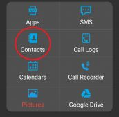Super Backup and Restore App contacts