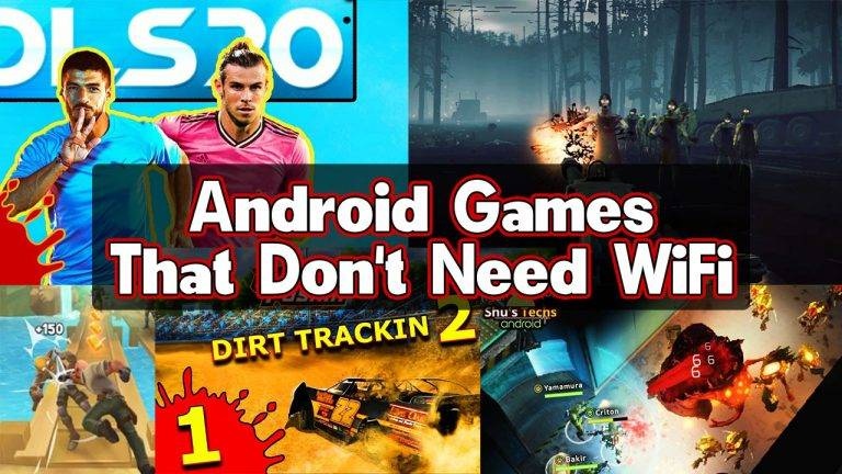 Android Games That Don't Need WiFi