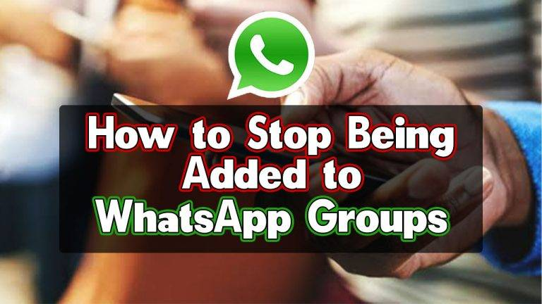 how to stop being added to whatsapp groups2