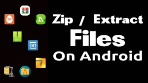 zipping and extracting files on android featured image