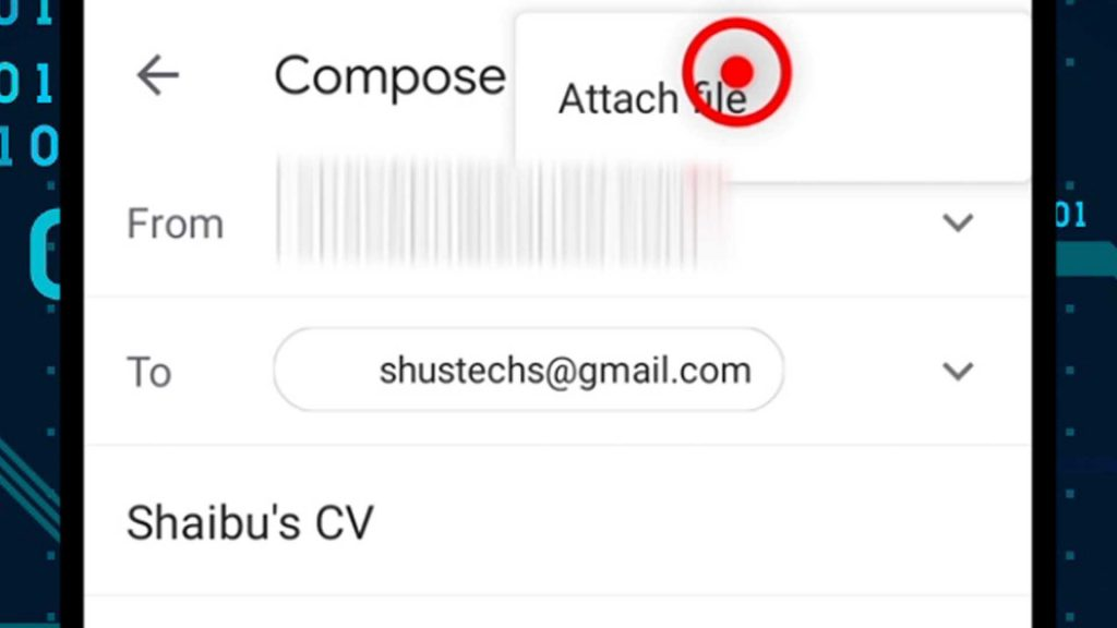 10. attach file