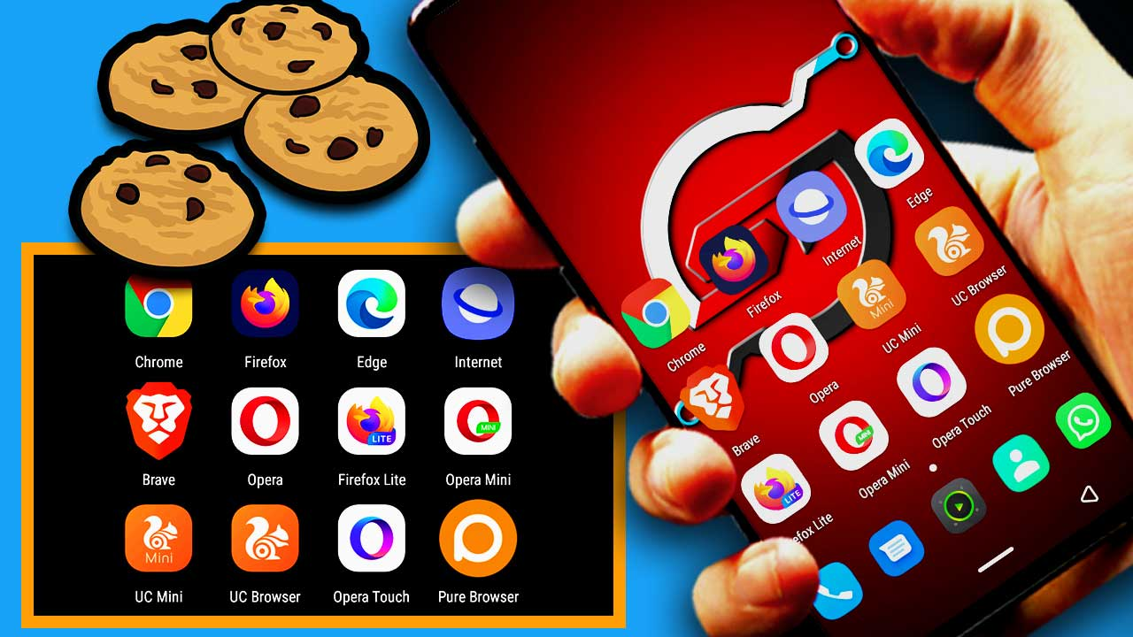 how to clear cookies on android 1