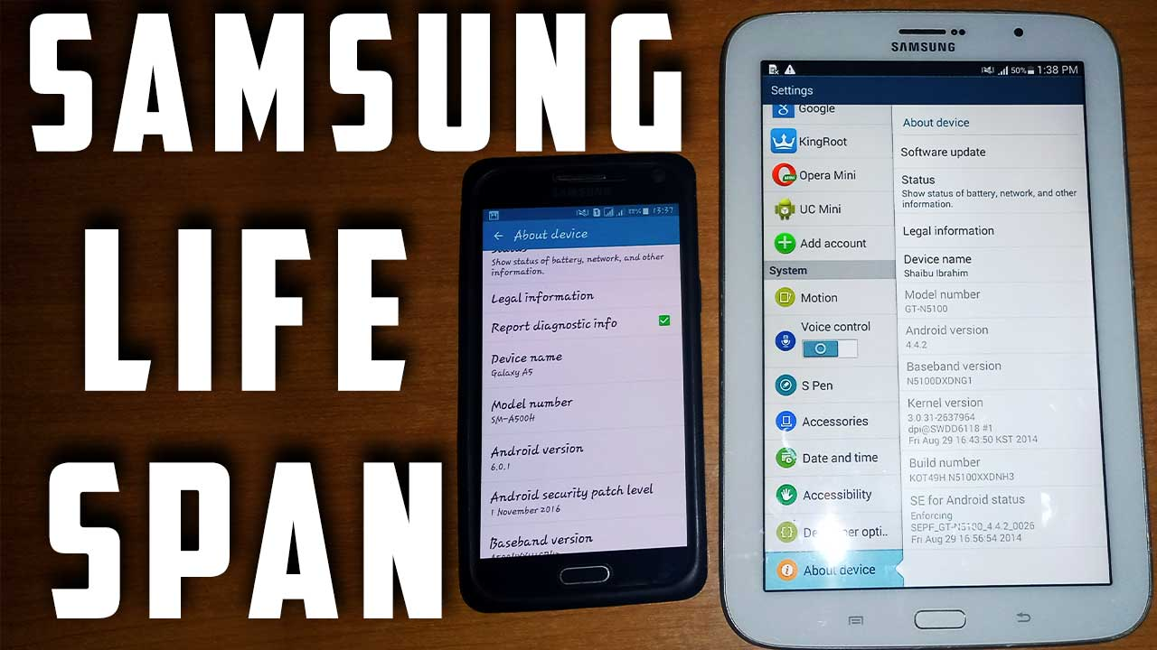how long do samsung phones last featured image