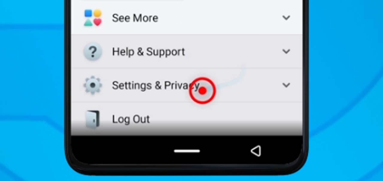 2. facebook Settings and privacy