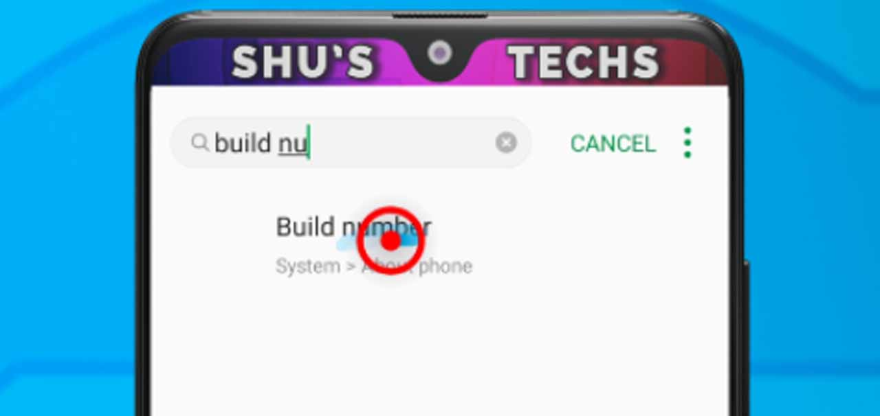 3 build number search result
